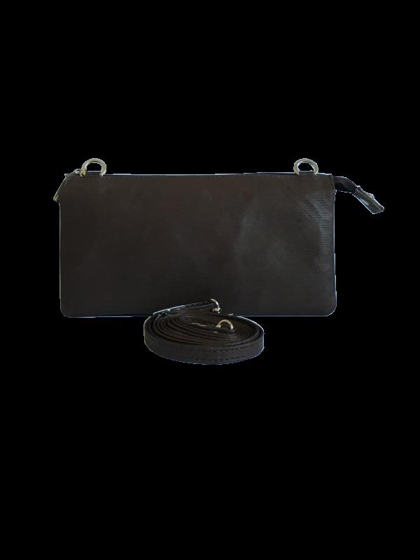 Fantastisk crossover unika taske i lammeskind - skuldertaske - Cosystyle