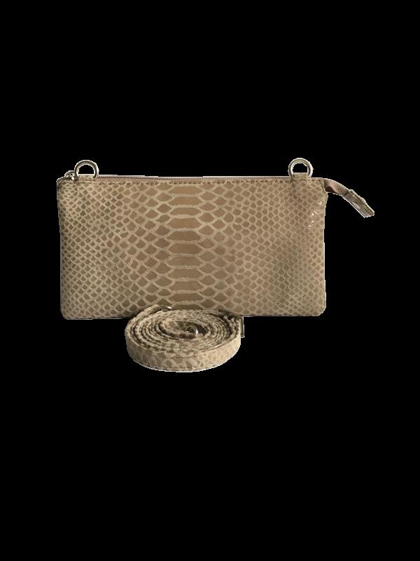 Trendy unika taske i kvalitetsskind - crossover taske - skuldertaske - Cosystyle