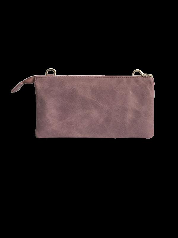 Rustik unika taske - crossover taske i lammeskind - skuldertaske - Cosystyle