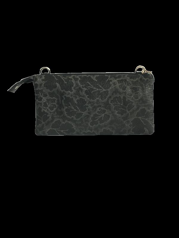 Klassisk crossover taske med kant - skuldertaske i lammeskind - Cosystyle