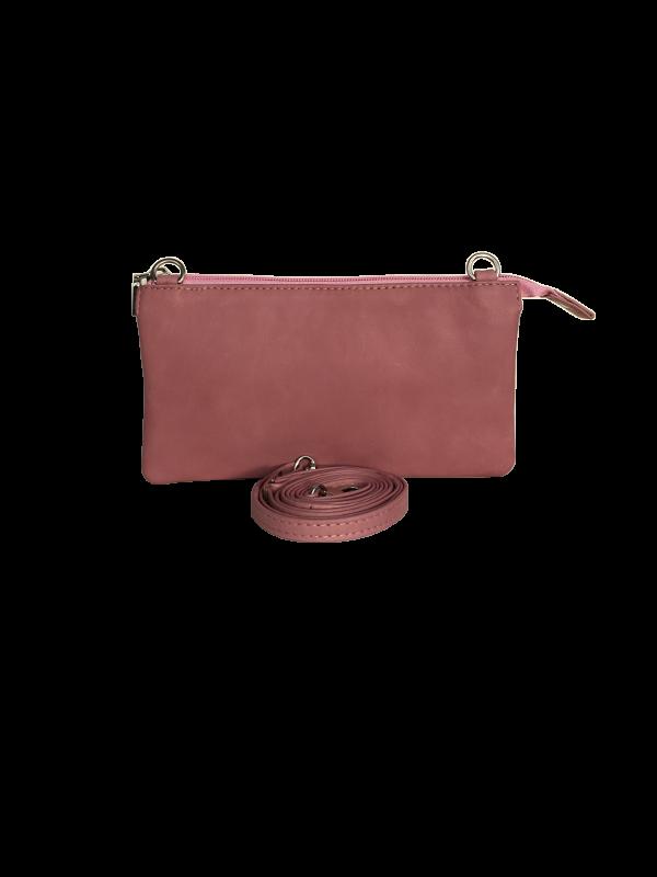 Fanatastisk lækker blød crossover taske i lammeskind - skuldertaske - Cosystyle