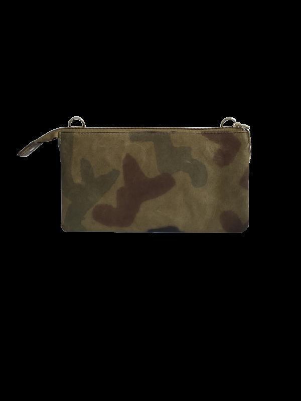 Unika taske i army grøn - crossover taske i skind - skuldertaske - Cosystyle