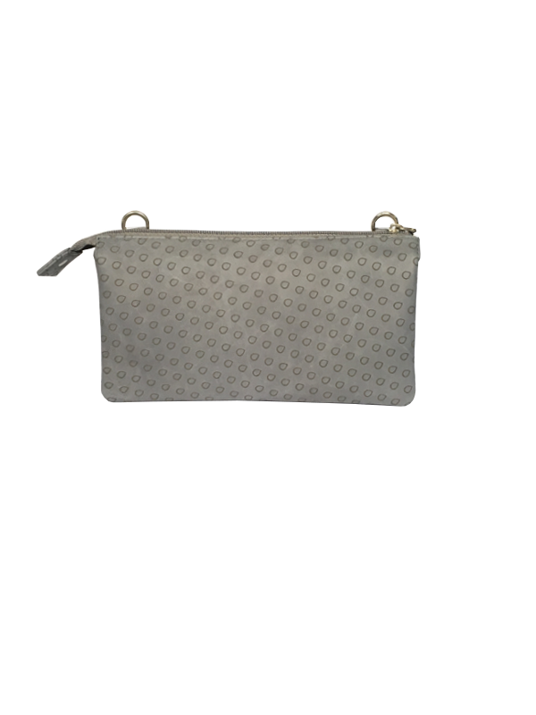 Trendy grå unika taske i smukt lammeskind - skuldertaske - cosystyle