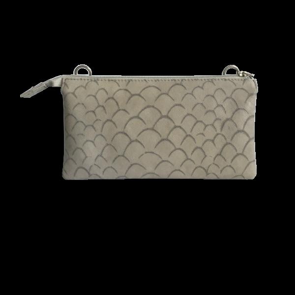 Smuk unika taske i ægte lammeskind - skuldertaske - Cosystyle