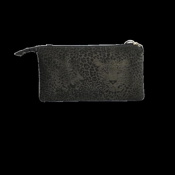 Sort elegant crossover taske i blødt skind - skuldertaske - Cosystyle