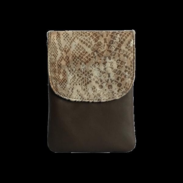 Kvalitets mobiltaske i ægte læder - Unika taske fra Cosystyle