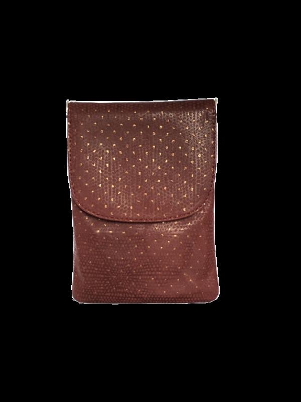 Kvalitets mobiltaske i ægte læder - Unika tasker fra Cosystyle