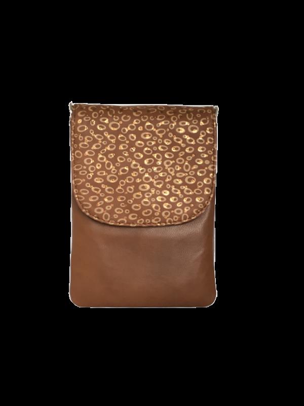 Unik taske i blødt lammeskind - skuldertaske - skindtaske - Skagen - Cosystyle