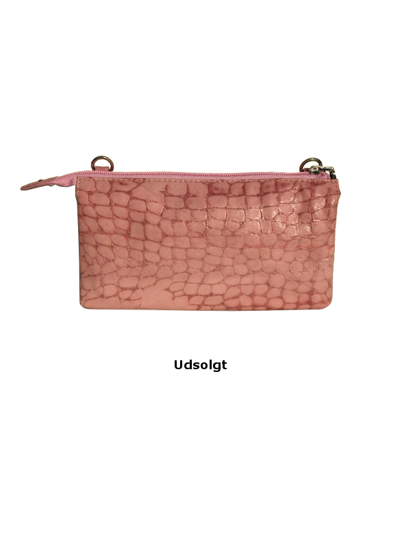 Lækker crossover clutch - Skindtaske i høj kvalitet - Barcelona - Unikke tasker fra Cosystyle
