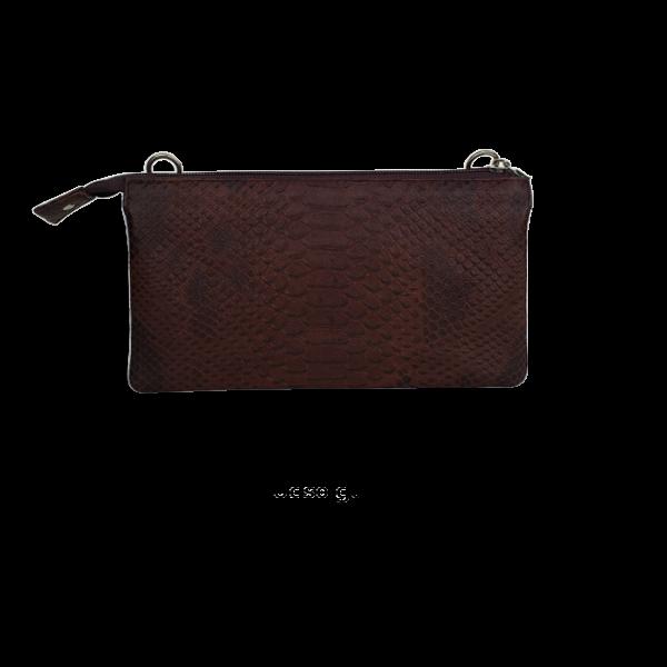 Kvalitets skindtaske i blødt lammeeskind - Unika taske fra Cosystyle