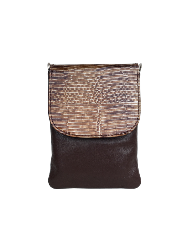 Lækker skindtaske i blødt lammeskind - Denne unikke taske er perfekt til din mobiltelefon - Skagen - Cosystyle