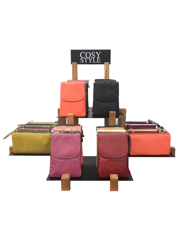 Skindtasker - Mobiltasker - Skuldertasker - Unika tasker fra Cosystyle