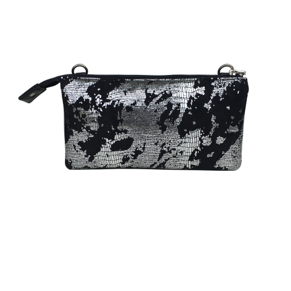 Unika taske i lækkert lammeskind-crossover clutch fra Cosystyle