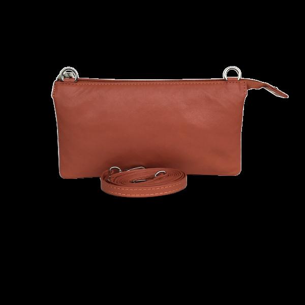 Iækker unika taske i lammeskind - Crossover clutch i flot design - Barcelona Cosystyle