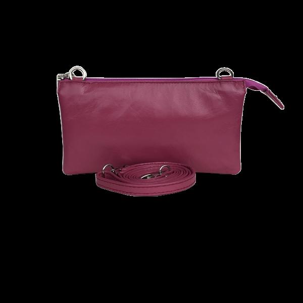 Crossover Clutch med blomster - Unika taske i lækker kvalitet - Barcelona Cosystyle