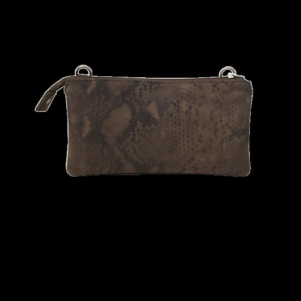 Crossover clutch i lækkert fint ruskind - Unika taske fra Cosystyle