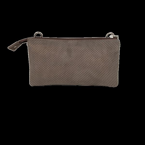 Blød og lækker Crossover Clutch i lammeskind - Unika taske fra Cosystyle