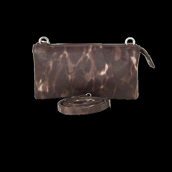 Crossover clutch i lammeskind - Unika taske fra Cosystyle