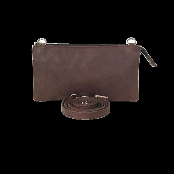 Lækker crossover clutch i lammeskind - Unika taske fra Cosystyle