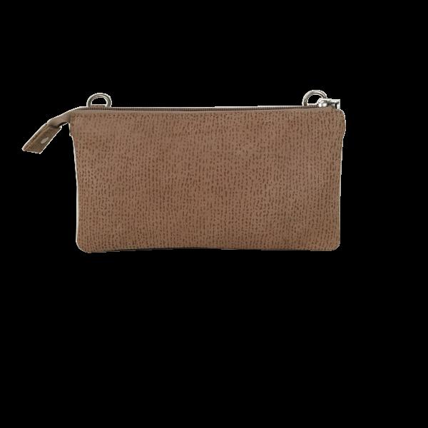 Lækker kvalitets clutch i blødt lammeskind - Unika Taske fra Cosystyle
