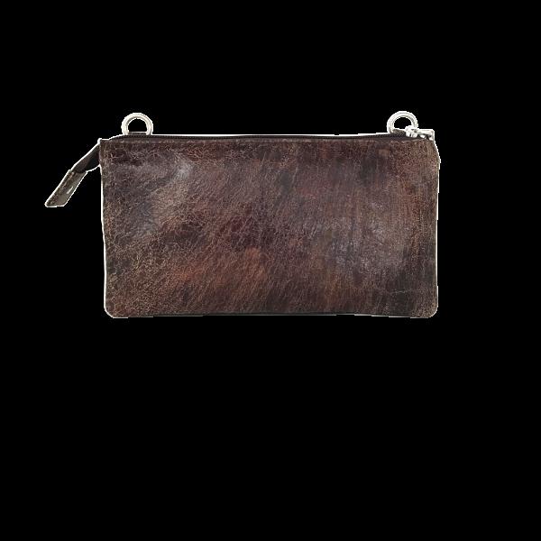 Lækker rustik crossover clutch - Unika taske fra Cosystyle