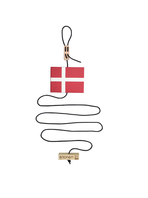 Snoren m/flag-Nordic by hand