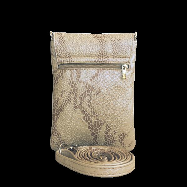 Lækker funktionel mobiltaske i blødt lammeskind - Unika taske fra Cosystyle