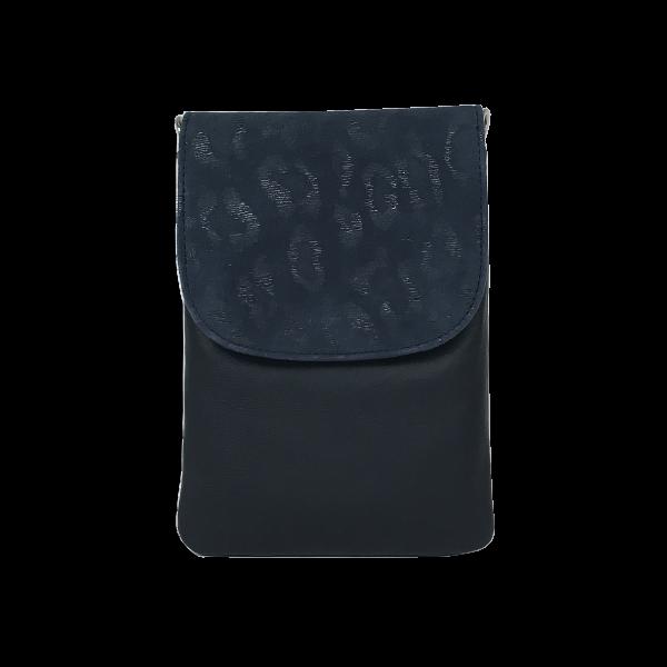 Blå mobiltaske i dejlig blødt lammeskind - Unika taske fra Cosystyle