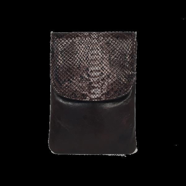 Super lækker unika mobiltaske i lammeskind - Skindtaske fra Cosystyle