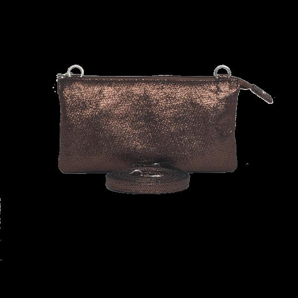 Super smart kobber clutch - Unika taske fra Cosystyle