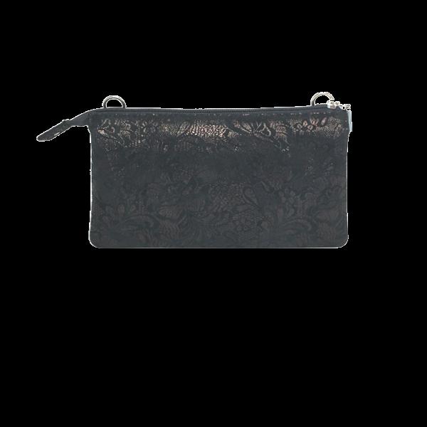 Sort elegant skindtaske - Unika taske fra Cosystyle