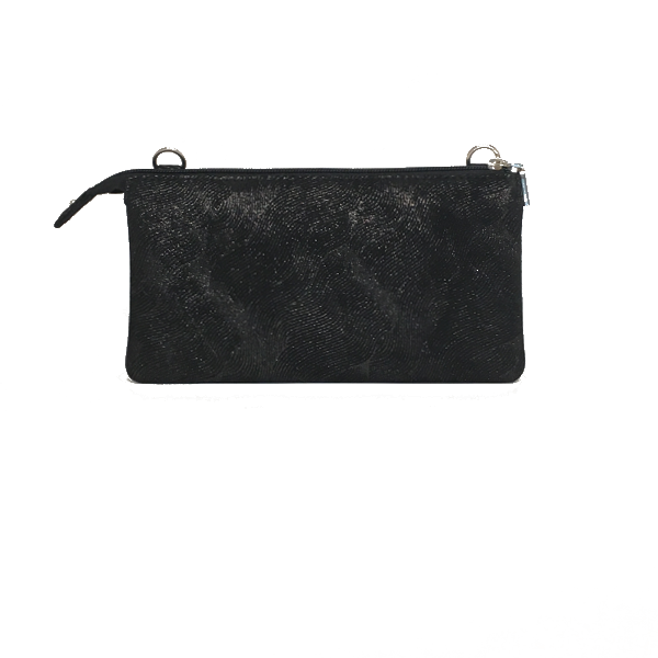 Flot glitrende crossocer clutch i lammeskind - Unika taske fra Cosystyle
