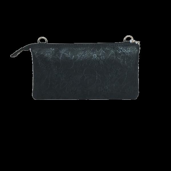 Elegant sort clutch i dejligt lammeskind - Unika taske fra Cosystyle