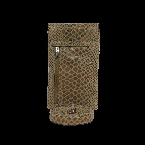 Mobiltaske i beige farver - Unika taske fra Cosystyle
