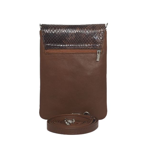 Fantastisk mobiltaske i lækkert lammeskind - Unika taske fra Cosystyle