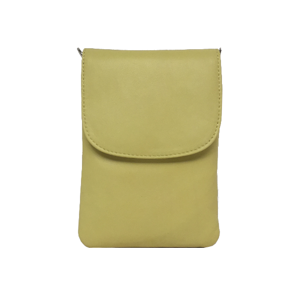 Fantastisk smuk crossover mobiltaske i glat lammeskind - Unika tasker fra Cosystyle