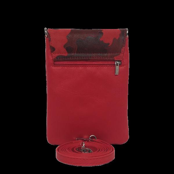 Flot mobiltaske i røde nuancer - Unika taske fra Cosystyle