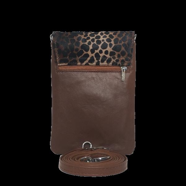 Elegant crossover mobiltaske i lammeskind - Unika taske fra Cosystyle