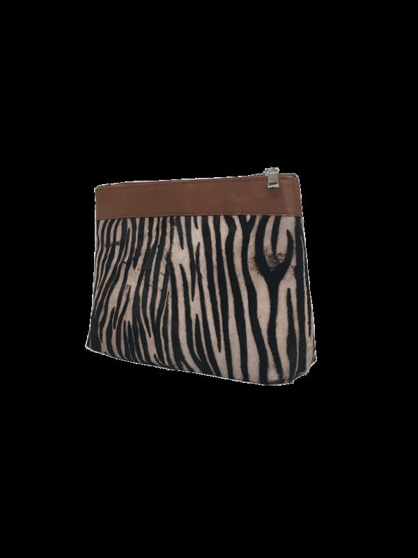Eksklusiv makeup taske i tiger look - Unika taske fra Cosuystyle