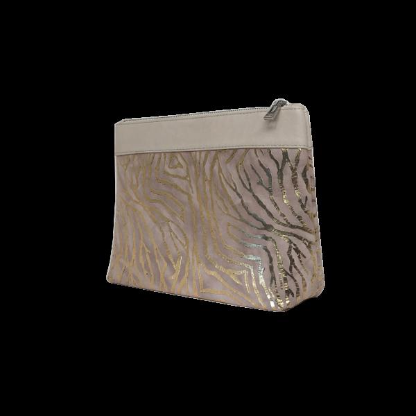 Smuk Makeup taske med guld look - Unika taske fra Cosystyle