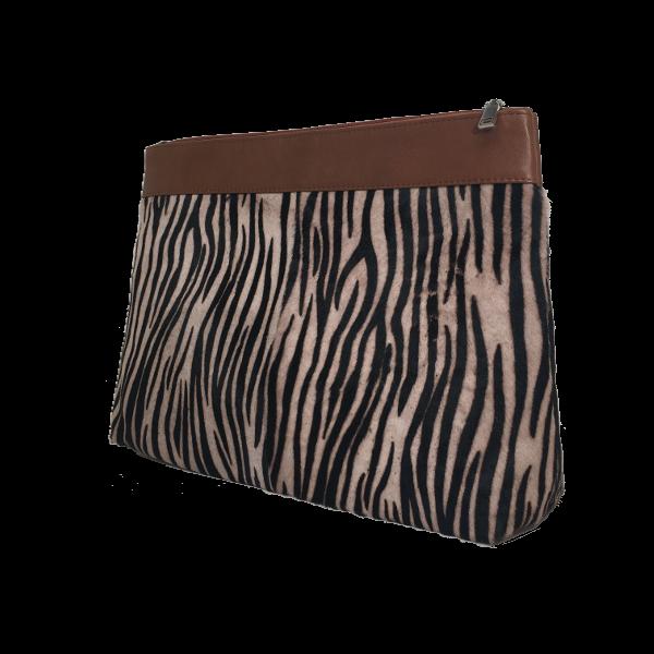 Toilettaske i tiger look - Unika taske fra Cosystyle
