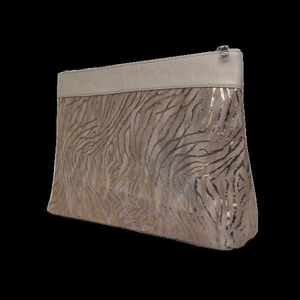 Flot toilettaske med guld look - Unika taske fra Cosystyle