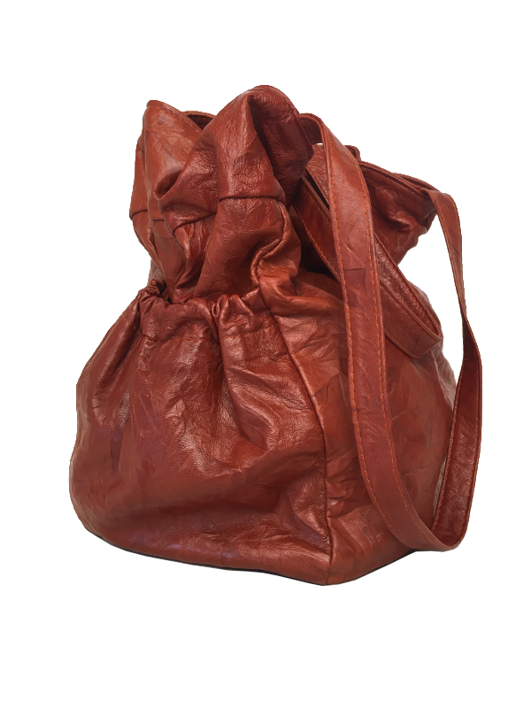 Smart shopper i lækkert lammeskind - Unika skindtaske fra Cosystyle