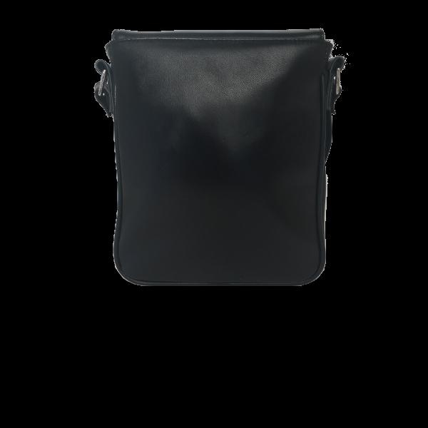 Super elegant crossover taske i sort lammeskind - Unika taske fra Cosystyle