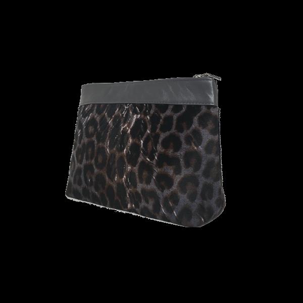 Flot makeup taske i gedeskind - Unika skindtaske fra Cosystyle