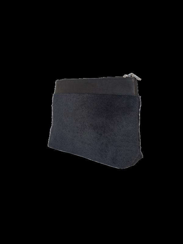 Makeup taske i antrasit nuance - Unika skindtaske fra Cosystyle